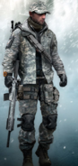 National guard gear set