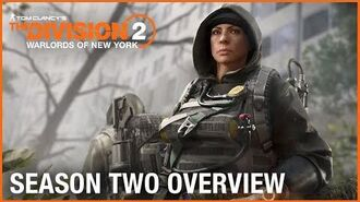Tom Clancy's The Division 2 Warlords of New York Season Two Overview Trailer Ubisoft NA