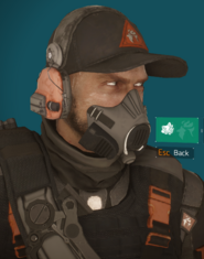 Firecrest mask