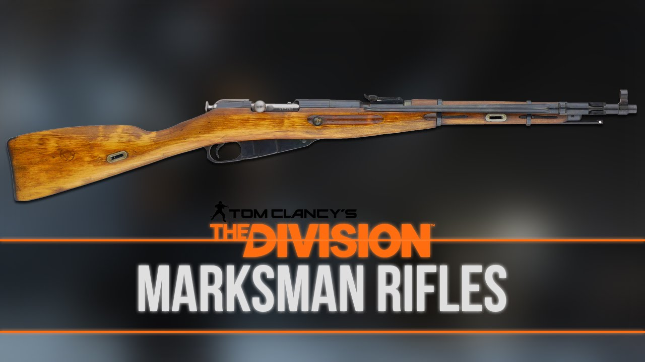Marksman Rifles | The Division Wiki | FANDOM powered by Wikia