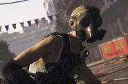 JPEG. Gas mask