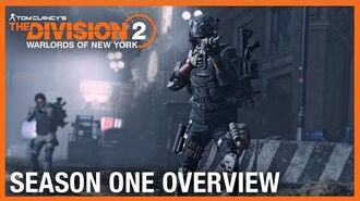 Tom Clancy's The Division 2 Warlords of New York Season One Overview Trailer Ubisoft NA
