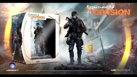 Tom Clancy's The Division FIGURA SHD AGENT