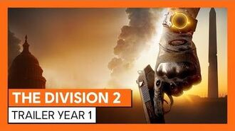 THE DiVISION 2 TRAILER YEAR 1 OFICIAL