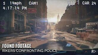 The Division - Found footage Rikers Confronting Police (HD)