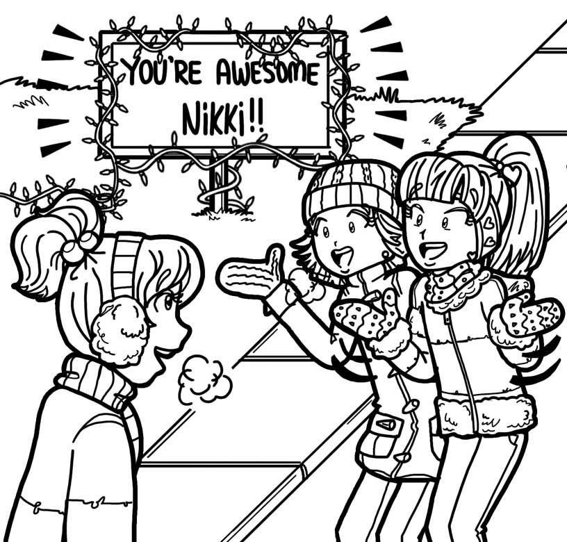 Image the dork diaries wiki fandom for Dork diaries coloring pages online