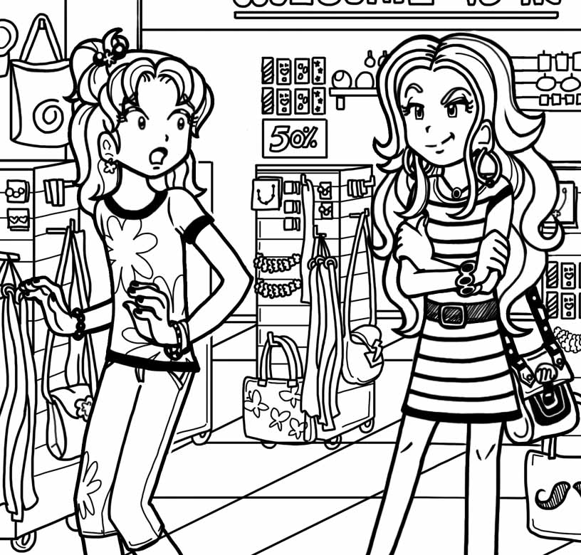 Image nmheadband jpg the dork diaries wiki fandom powered by Coloring Pages From the Dork Diaries 6 Coloring Pages of Goosebumps Drawing of Dork Diaries