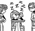 Nikki-Asleep-In-Class