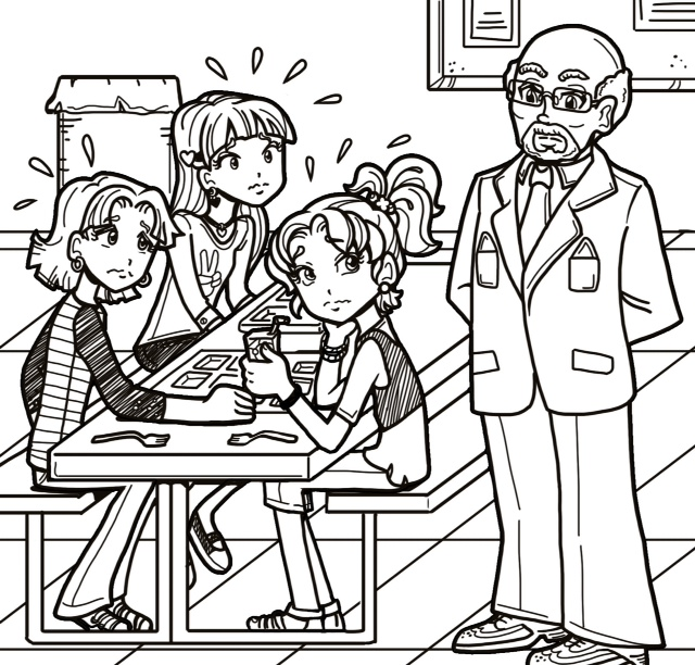 Principal winston the dork diaries wiki fandom powered for Dork diaries coloring pages online