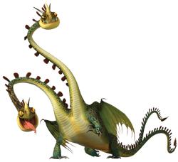 Hideous Zippleback How To Train Your Dragon Thedragon Wiki Fandom