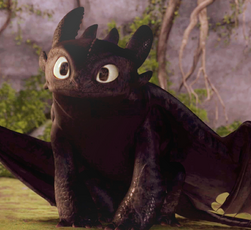 Toothless.......