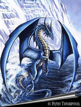 Ocean dragon or OCEAN!
