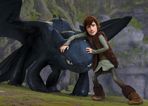 Toothles and Hiccup