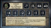 Uggo Card LVL8