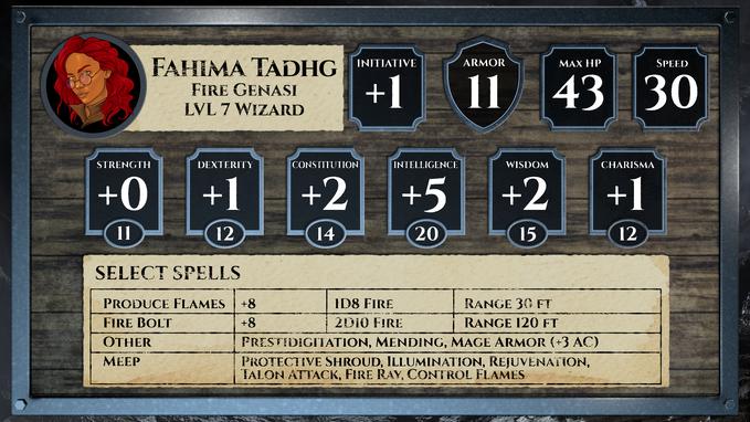Fahima Card LVL7 v01