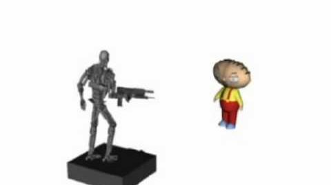 Robot vs stewy