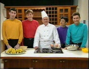 The Wiggles and John the Cook