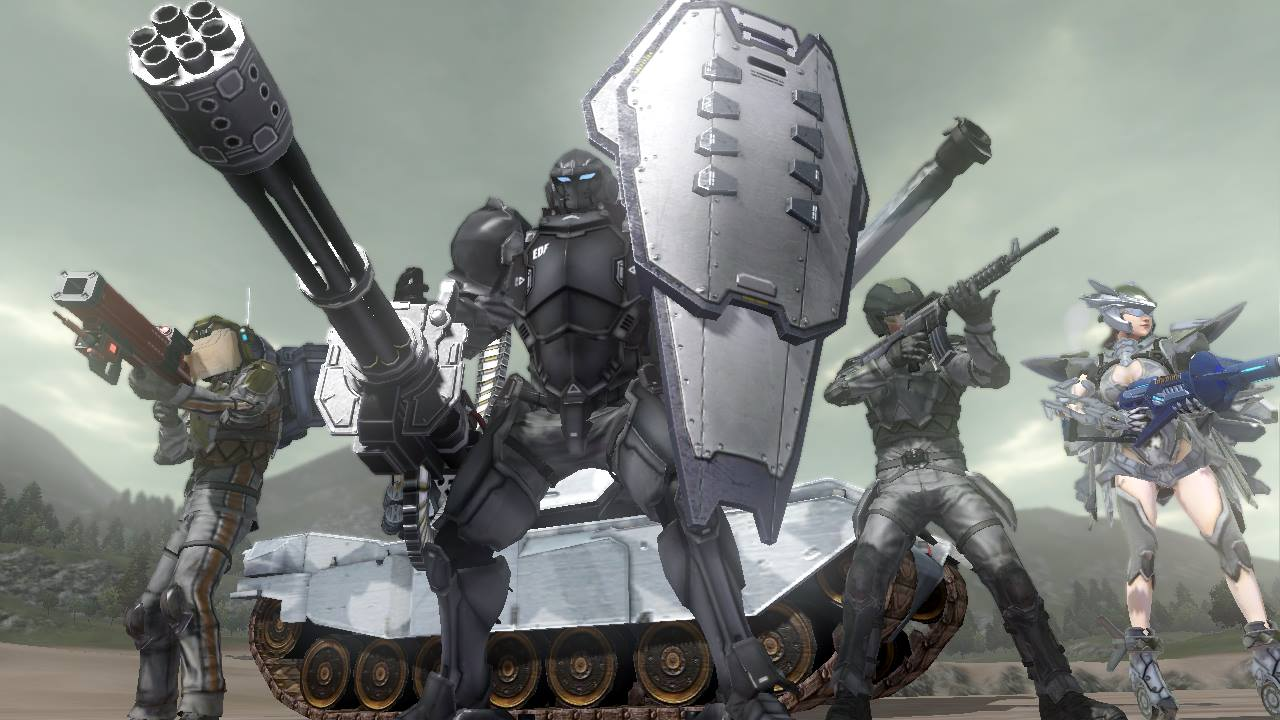 Earth Defense Force 2025Fan Feed