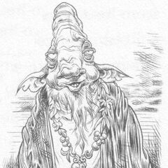A male gnokgoblin