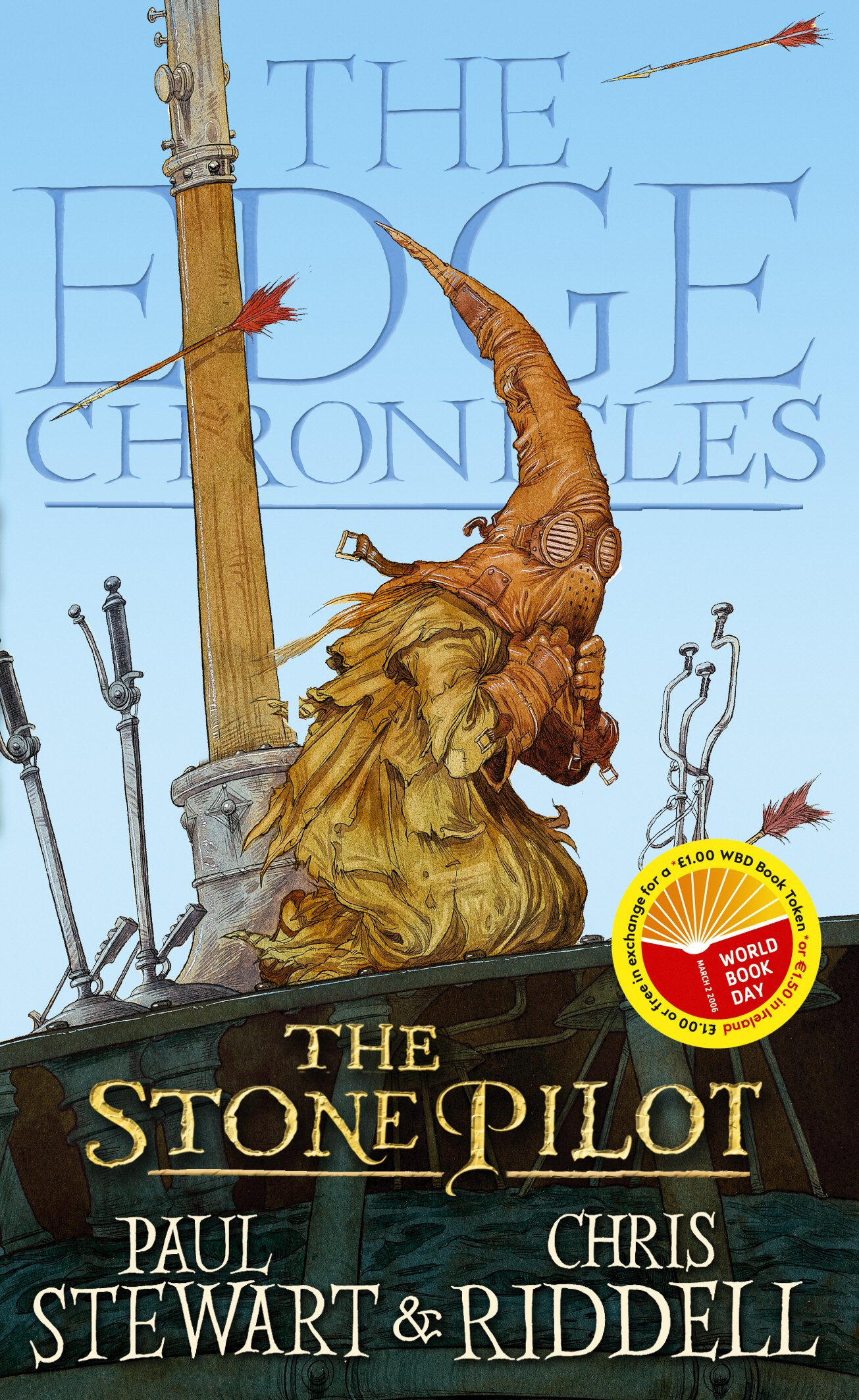 the edge chronicles 3 clash of the sky galleons stewart paul riddell chris