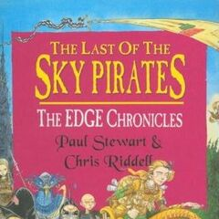 <i>The Last of the Sky Pirates</i> UK hardcover.