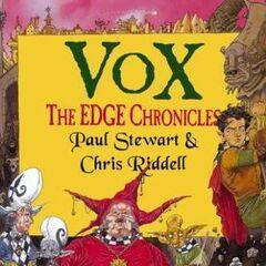 <i>Vox</i> UK hardcover.
