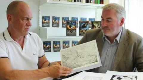 Paul Stewart and Chris Riddell introduce a new Edge Chronicles map