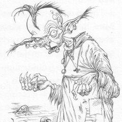 A tufted goblin