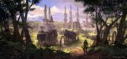 Online Altmer town