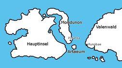 TES klarix Summerset Artaeum Karte