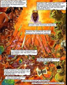 Ra Gada Orsimer Redguard Comic