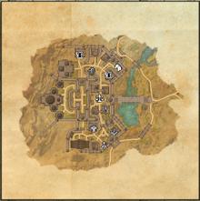 Hallin's Stand Map