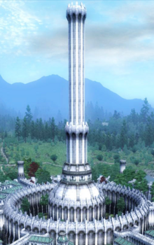 White-Gold Tower