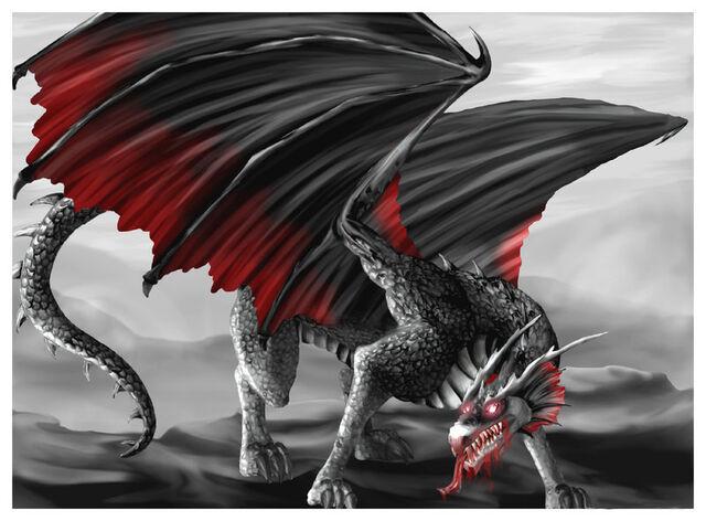 File:The Dark Vampire Dragon by o eternal o.jpg