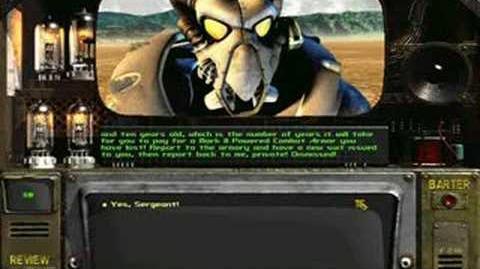 Fallout 2 drill sergeant Dornan best speech ever LISTEN!!!