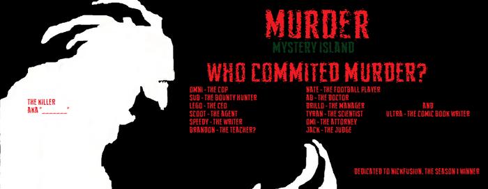 MURDER Mystery Island Poster 2