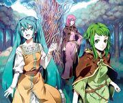 Elluka, Michaela y Gumillia (Wiegenlied)