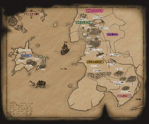 Mapa de Evillious