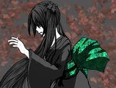 Chica del obi verde