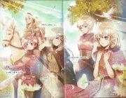 Yukina, Germaine, Gumillia, Chartette y Riliane