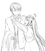 Gallerian y Michelle (Ichika)