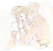 Riliane y Allen (Mizutame Tori)