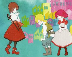 Germaine, Allen y Chartette (Aventura de un Niño y una Niña)