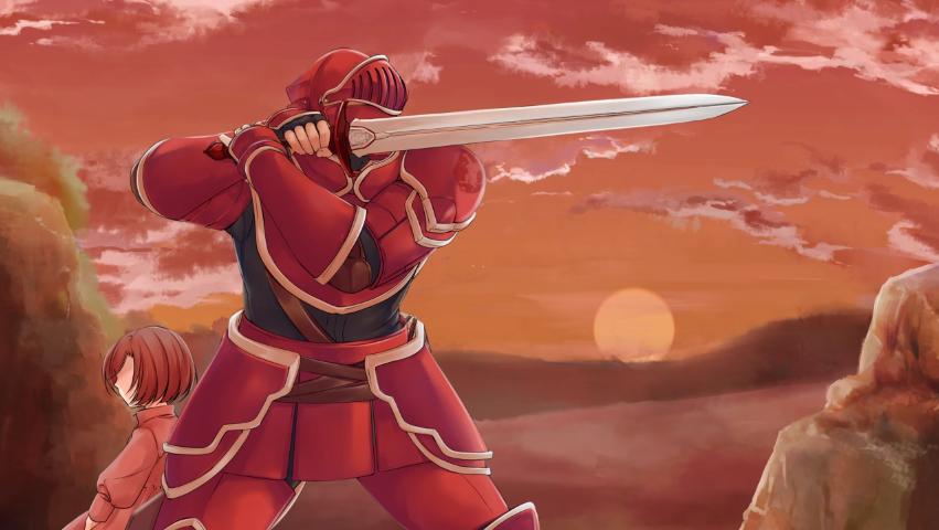 A Hero's Armor is Always Crimson