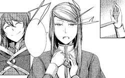 Expresión fría de Mariam (Manga)