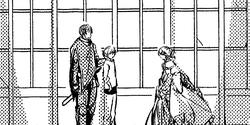 Leonhart, Riliane y Allen (Manga)