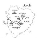 Mapa de Onigashima