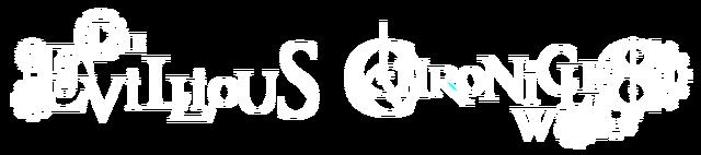 Fișier:Evillious Chronicles Logo white.png