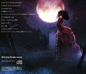 Contraportada del álbum Evils Forest
