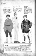 Saruteito, Inukichi y Kiji Yarera (Perfiles)